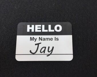 Customizable Hello Name Tag