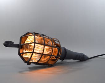 Trouble Handheld / Hanging Cage Lamp