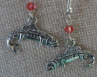 Fish / Trout / Flyfishing  Earrings