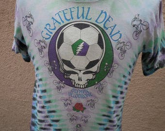Size L (44) ** Rare 1990 Grateful Dead Concert Shirt (Double Sided)