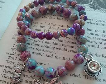 Alice in Wonderland bracelet set - abridged - children's & adults