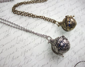 Maternity bola necklace with musical harmony ball pendant
