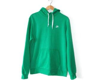 Nike, green hoody, sportswear,