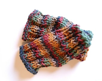 Cuffs, multi color Boot Toppers, One Size Fits All Women Accessories, winter leg warmers