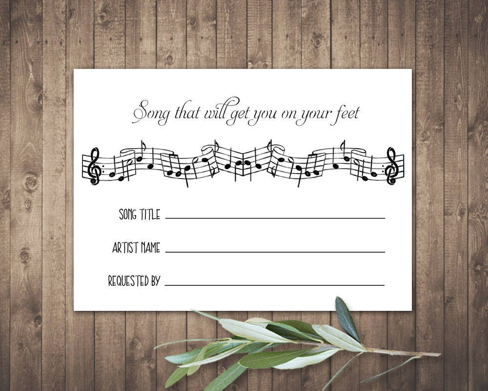 Wedding Invitation Song Request – guitarreviews.co