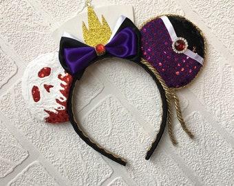 Evil Queen Snow White Mickey Ears Headband