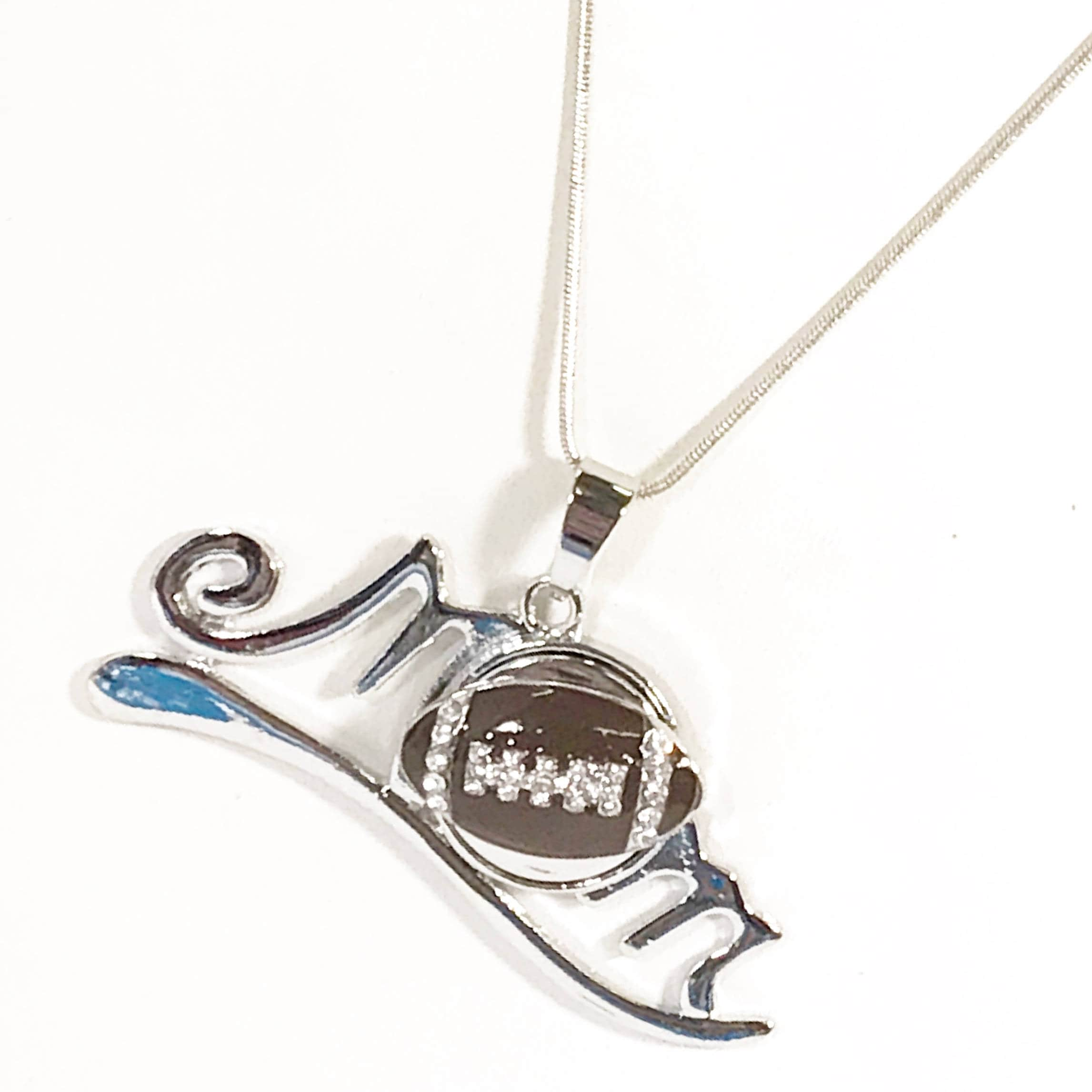 product red pendant husker hoover football white and s jewelers