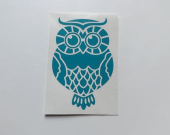Owl decal ,bird decals, Decal for laptop, yeti decals,mug decals, phone, car decal, window decal,tumbler decals,Owl decals, cup decals