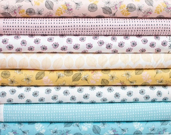 Whisper from Windham Fabrics Bundle - Fat Quarter Bundle - 8 fat quarter pieces (B375)