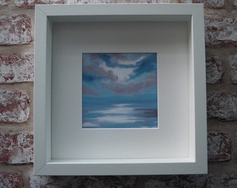 Print of an original art work Sky 1 - framed and signed by the Artist