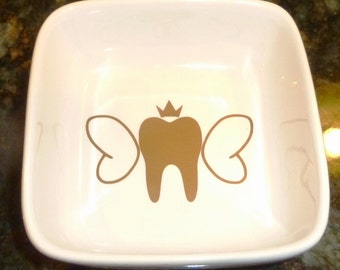 Tooth Fairy Jar / Tooth Fairy Box/ Custom Dish