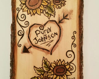 Custom Wood Sign/Design, Medium