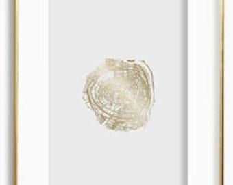 24k Gold Tree 003 -GIFT BOX
