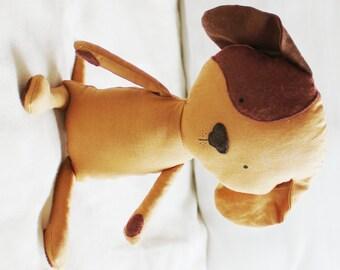 Dog Sewing Pattern Puppy Softie Plush Toy Cloth Doll Pattern PDF