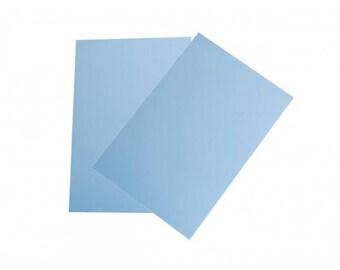 Plastic crazy blue 29x20cm