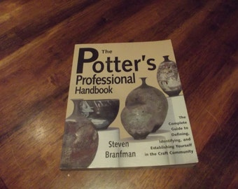 Pottery Book - The Potter's Professional Handbook- Pottery Supplies- Pottery Instruction, How to Make Pottery, Pottery Book, Ceramics Book