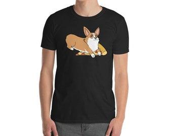 Funny Pembroke Welsh Corgi Shirt, Get Your Own Pizza T-Shirt, Cute Corgi Gifts