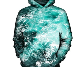 Ocean Hoodie | Rave, EDM, Festival Hoodie