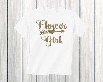 Flower Girl Shirt Wedding Rehearsal Shirt Flower Girl Gift Girl's Flower Girl Shirt Petal Patrol Shirt Wedding Shirt Flower Girl Outfit