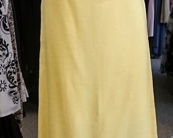 Vintage 1960's Country Miss Long Dress