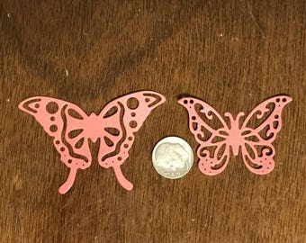 Die Cut Butterflies Set of 2.