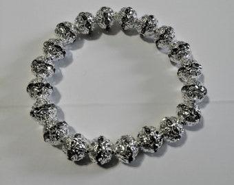 Women's Silver Bling Bracelet