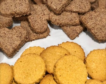 Peanut Butter Ginger Snaps- GRAIN FREE Dog Treats