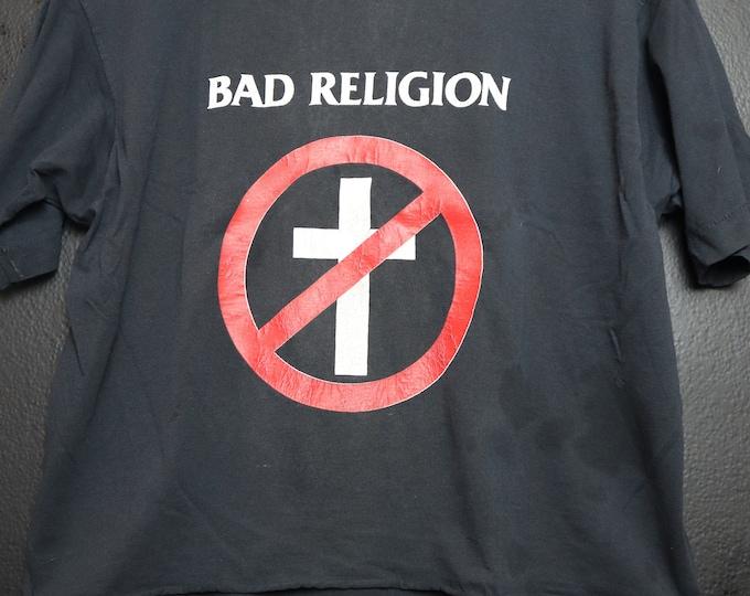 Bad Religion 1980's Vintage Tshirt
