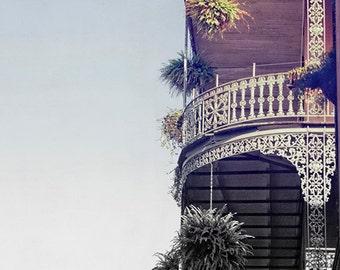 "New Orleans French Quarter Photograph ""Standing Proud"" Affordable Fine Art Print. Mardi Gras. Louisiana Wall Art."