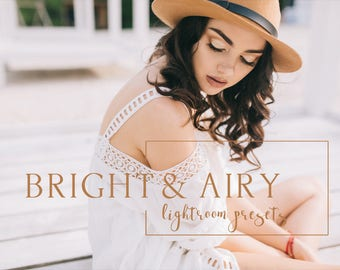 70 Bright & Airy lightroom presets