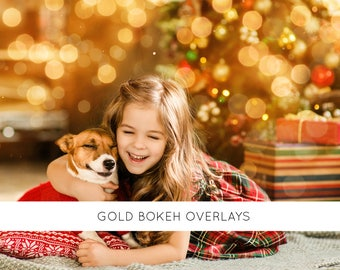 christmas light overlays, christmas bokeh overlay, christmas bokeh lights, christmas bokeh photoshop overlays, gold bokeh, bokeh overlay