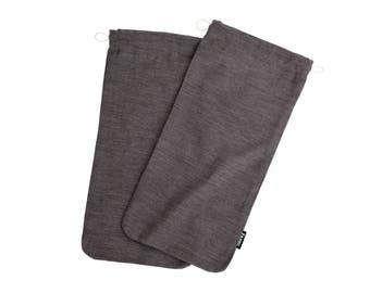 shoe covers, brushed cotton covers, cotton covers, travel covers, travel shoe cover, shoe cotton cover, shoe bag, shoe cotton bag