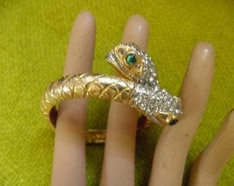 SIGNED KJL Snake Bracelet Fom His Vintage Collection