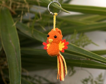 Amigurumi doll Phoenix  - amigurumi crochet - Crochet amigurumi - amigurumi Phoenix - crochet - Plush Phoenix - stuffed Phoenix