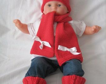 Hat scarf and Merino Wool Socks