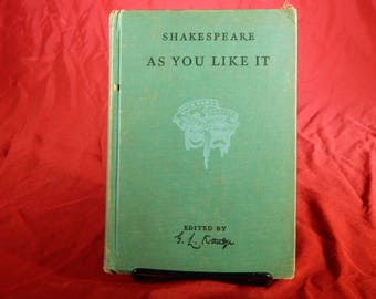 As You Like It - William Shakespeare - Copyright 1939