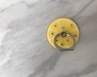 Lemon Ring Phone Holder