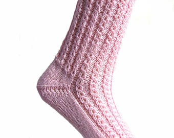 Socks Soft Pink, size EU 38/39  UK 6/7 US 8/9