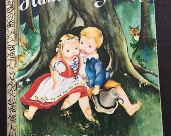 Hansel and Gretel: A Little Golden Book
