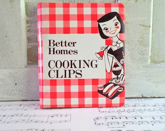 Vintage Better Homes Cooking Clips Recipe Holder