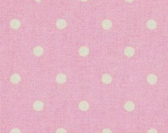 VENTE - comptine de fermeture du magasin rose à pois, rose à pois, tissu créatif de ressorts, tissu couette 100 % coton, tissu à courtepointe