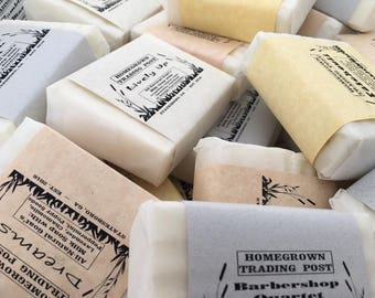 Pick Any 6 All Natural Goat's Milk Soaps
