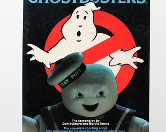 Rare Making Ghostbusters Book 1985