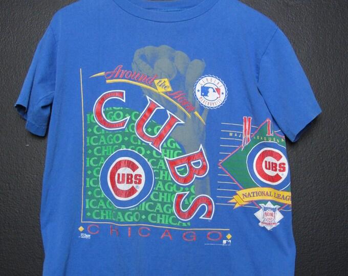 Chicago Cubs MLB 1992 Vintage Tshirt