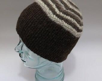 Naturals striped hat