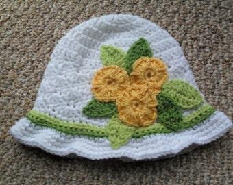 Spring Fever Hat Crochet Pattern