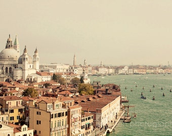 venice photography,  venice wall art, travel photography, living room art, italy photo, canals, architecture, venice italy,  City of Venice