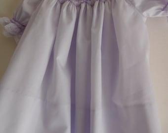 Hand Smocked Infant Dress--size 6 months