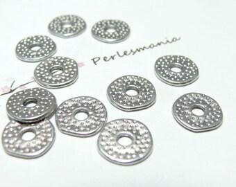 10 beautiful ref 71Y PP hammered rings