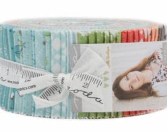 Nest Jelly Roll by Lella Boutique for Moda Fabrics